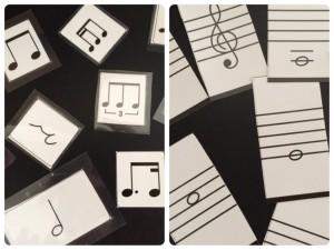 リズム音程カード